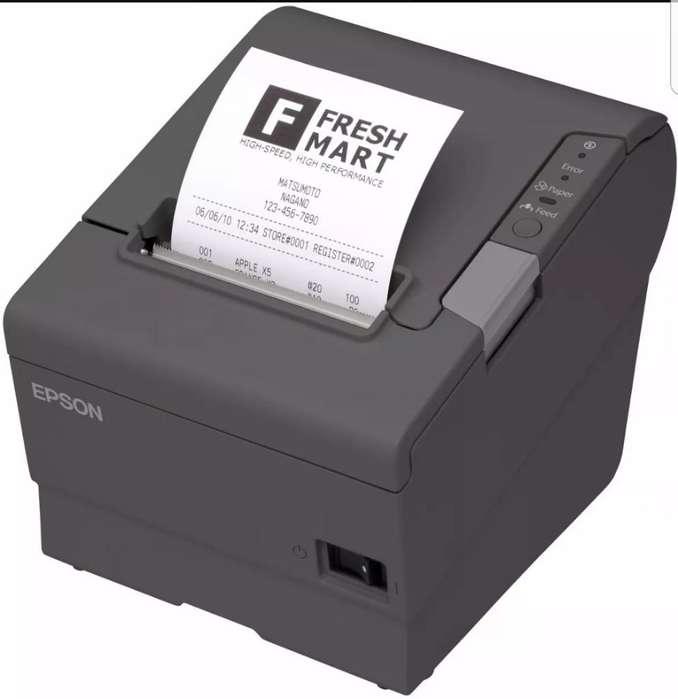 Impresora Epson Tm-t88v para Recibos Pdv