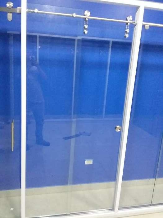 Puertas de Baño Vidrio Templado