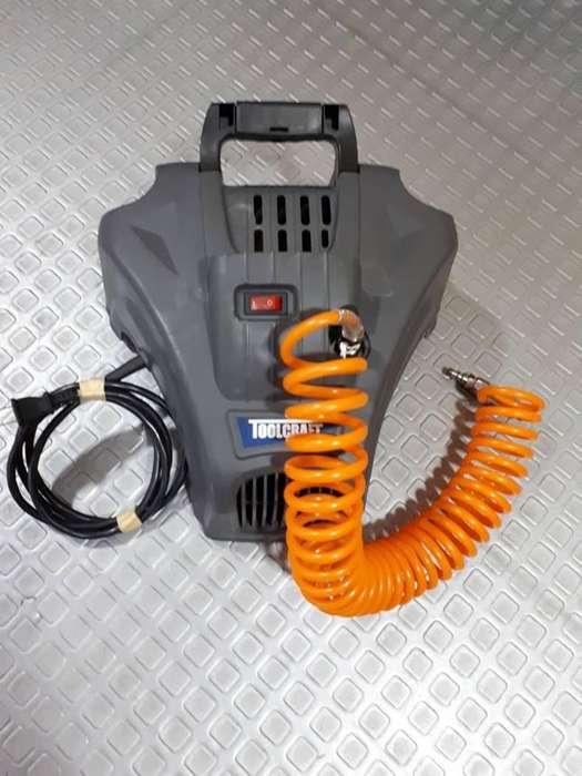 Compresor De Aire DIRECTO Portátil 1.5 Hp Toolcraft