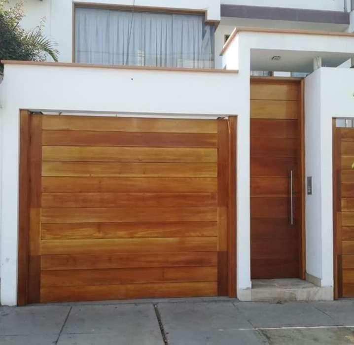 Portones Y <strong>puertas</strong> de Madera