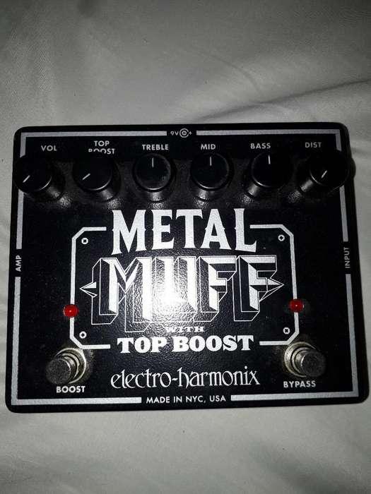 Pedal Metal Muff Como Nuevo