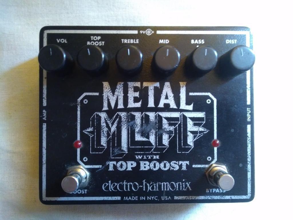Pedal Metal Muff Distortion