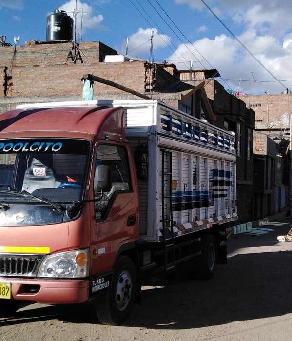 Camión Jac de 4 Toneladas...