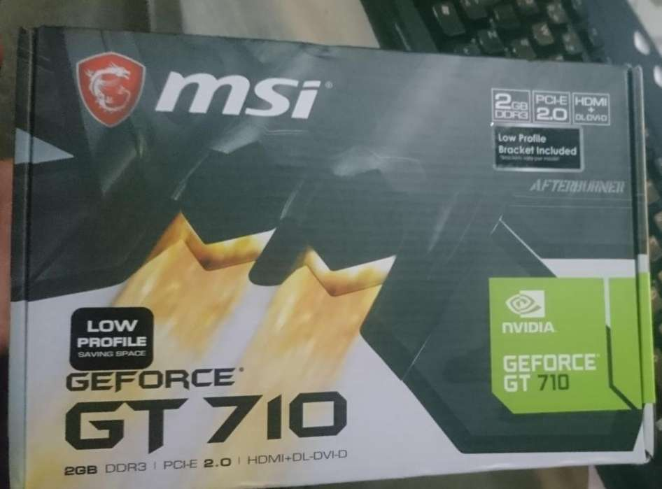 Tarjeta Grafica Msi Geforce Gt 710 2 Gb Ddr3 Pci Express (nueva)