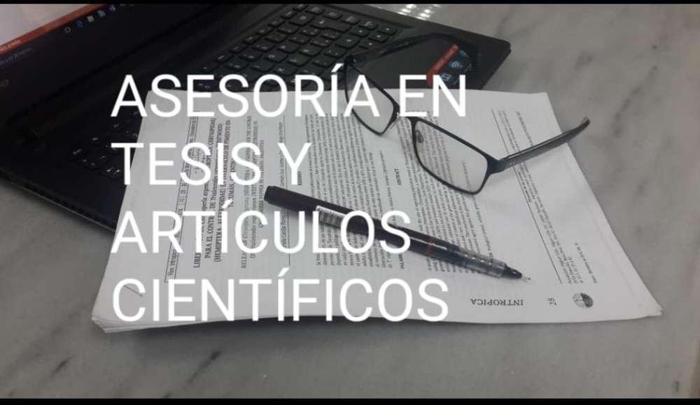 Asesorías en Tesis Y Artículos Científic