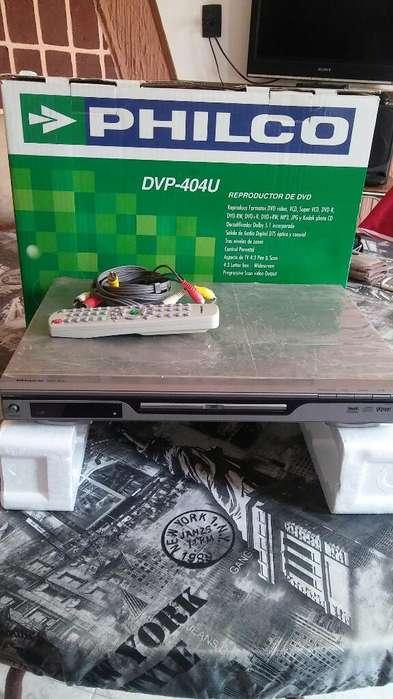Dvd Philco, Dpv-404u. Nuevo