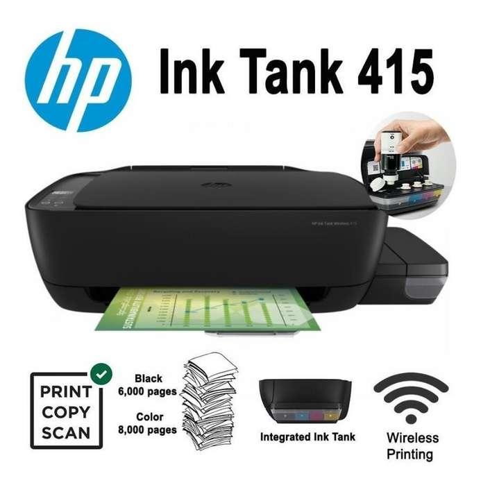 Impresora Tinta Continua de Paquete