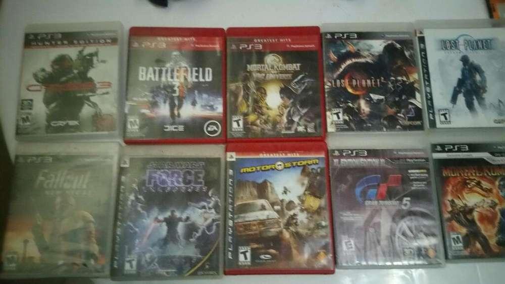 Vendo 10 Juegos de Playstation 3