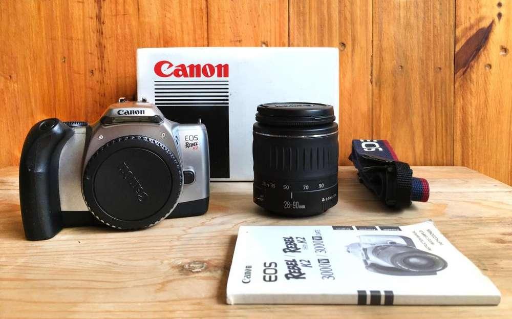Cámara fotográfica análoga Canon Eos Rebel K2