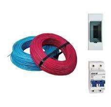 Kit Basico Materiales Electricos 2 Rollos de Cables 2,5mm / 1 Termicas / 1 Caja 1890 Pesos