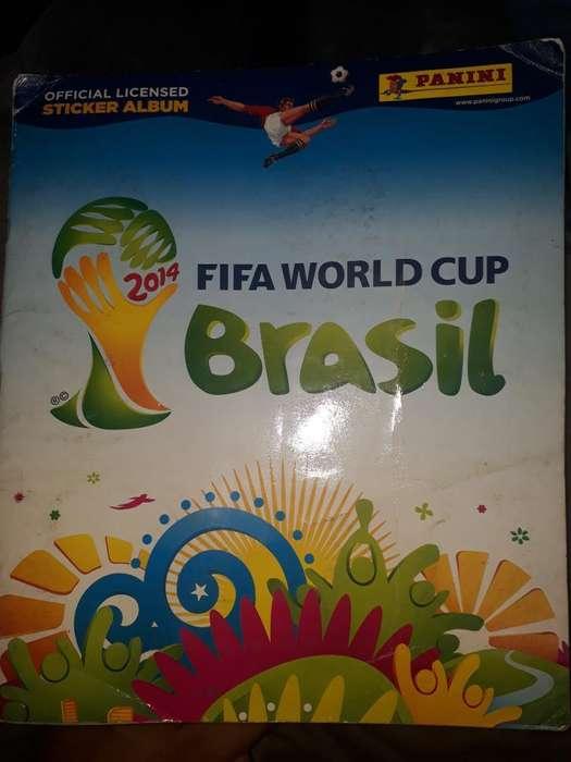 Venta de Album Del Mundial Brasil 2014