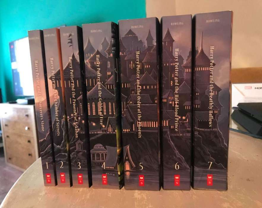 Harry Potter Coleccion 7 Libros Ingles