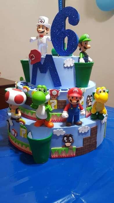 Mario Bross Set Completo para Fiesta