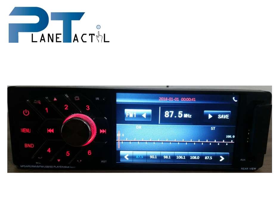 RADIO PARA CARRO OEM, PANTALLA DE 4.1, AUXLILIAR, USB, MICRO SD, 45 WATTS