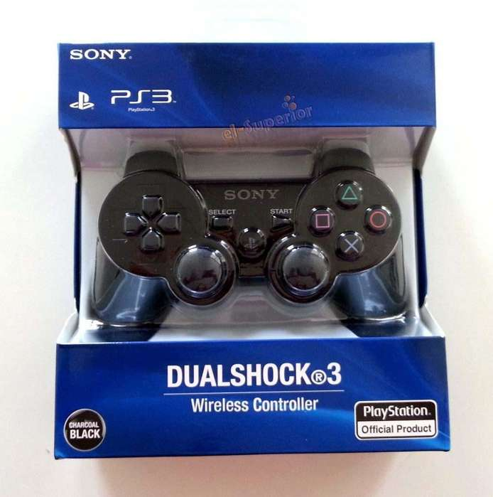 Joystick Ps3 Sony Dualshock Plystation Original En Caja Obelisco Play 3