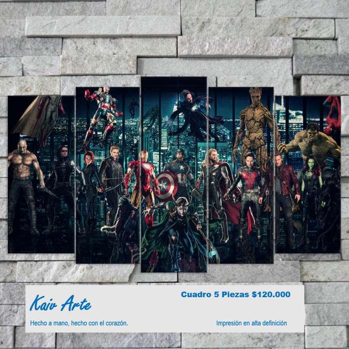 Superheroes Cuadros Decorativos avengers