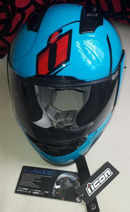 Casco Icon Agv Alliance Gt. Bien Cuidado