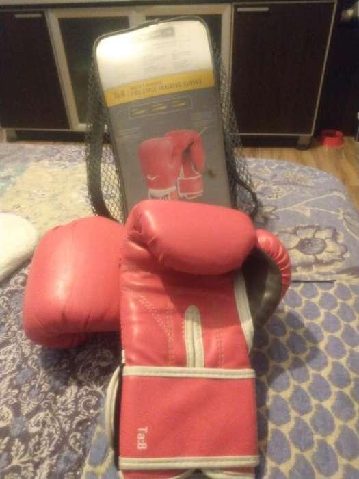 Guantes Box Everlast Rosa