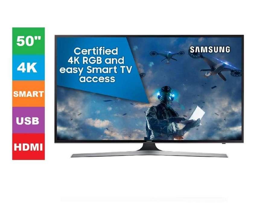 TV LED SAMSUNG 50 4K ULTRA HD SMART 50MU6103 NUEVA en TIENDA