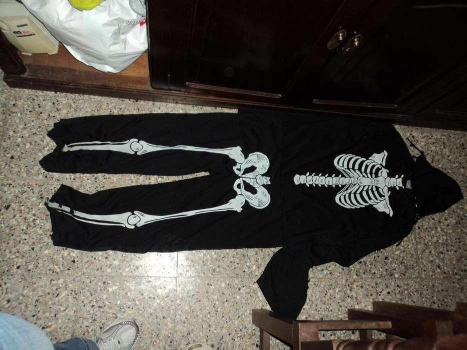 Disfraz Esqueleto Adulto Cotillon