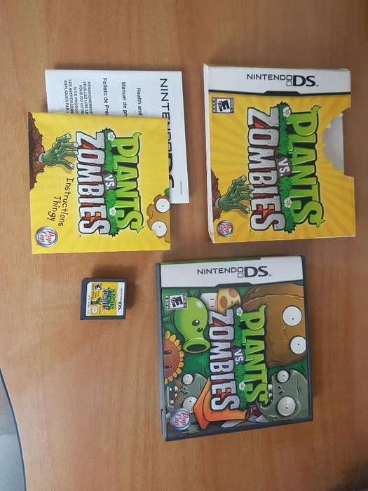 Plantas Vs Zombies Nintendo Ds