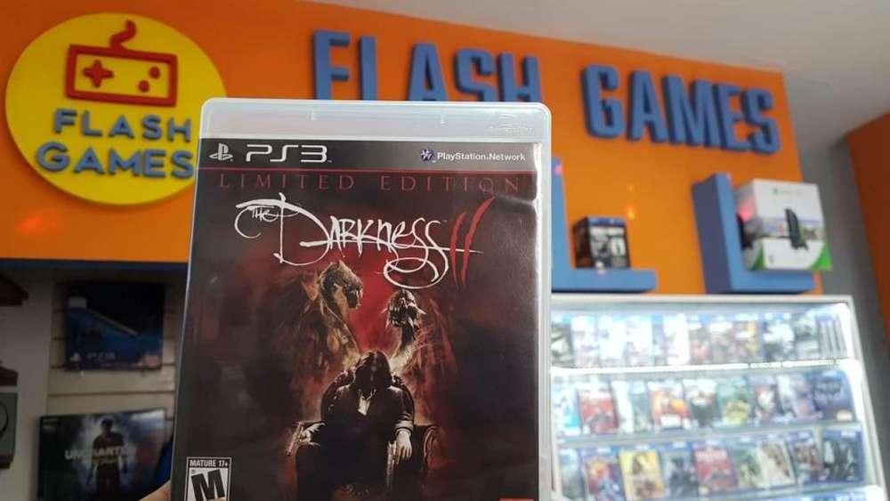 The Darkness 2. local céntrico. recibo tarjetas. garantía. juegos play 3 físico usado. ps3
