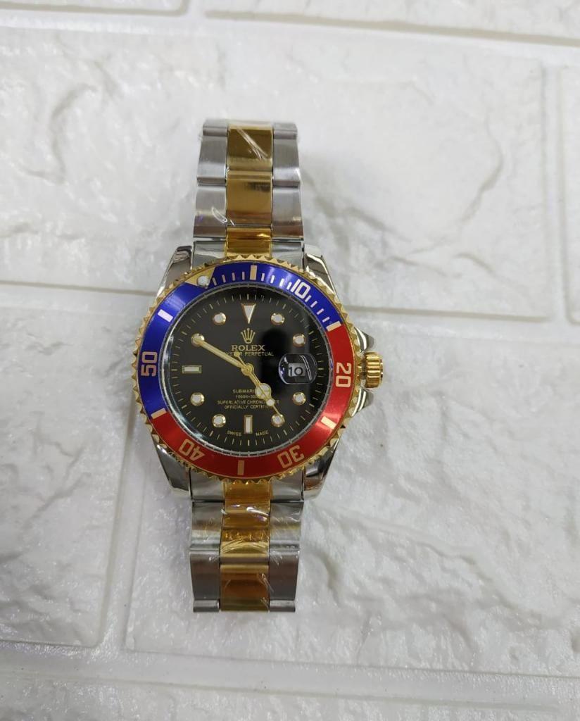 Ar Reloj HombrePlateadoDorado Reloj Rolex Cali TlFJK1c3