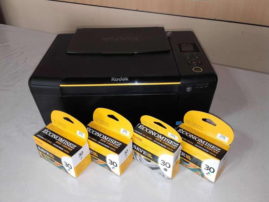 <strong>impresora</strong> MULTIFUNCION KODAKESP C310 CON CARTUCHOS NUEVOS