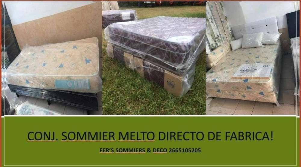 VENDO COLCHONES MELTO DIRECTO DE FABRICA