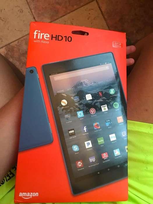 Vendo Tablet Firehd10 de Amazon