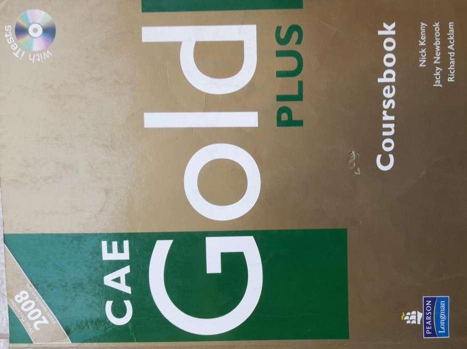 Libro de texto idioma ingles Cae Gold Plus
