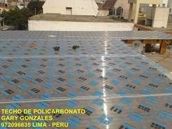 INSTALACION TECHOS POLICARBONATO 972096635 DRYWALL Y VIDRIOS