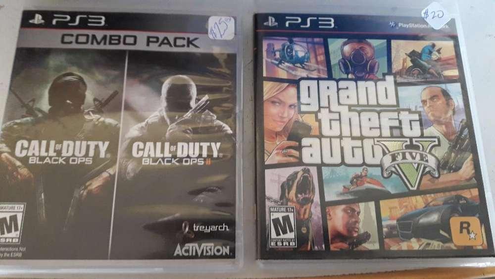 Juegos Originales para Play3