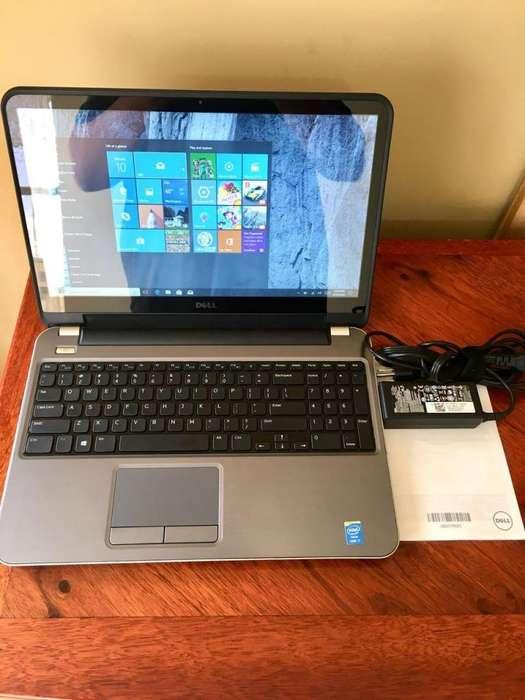 LAPTOP DELL P. TÁCTIL CORE I7, 8GB RAM, 1TB DISCO, 2GB T. GRÁFICA. SEMINUEVA EN EXCELENTES CONDICIONES CON POCO USO!