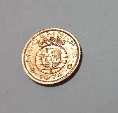 Moneda sin circular del Mozambique portugués, 1974, 80