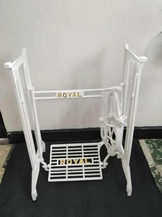 Bases de maquinas de coser antiguas (singer, royal, newyork)