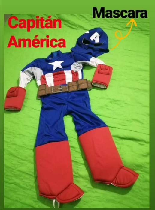 Disfraz Niño Capitan América Marvel