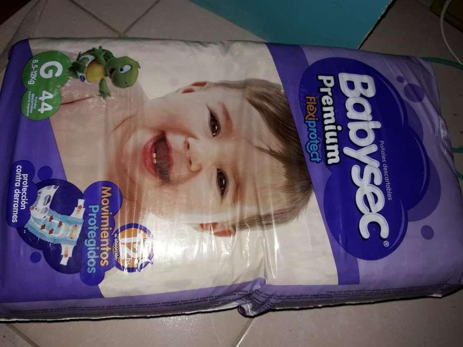 Vendo Pañal Babysec Talle G sin Abrir