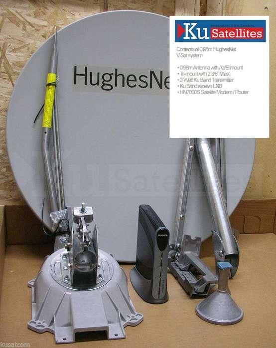 HughesNet Plataforma KuBand 15 Megas