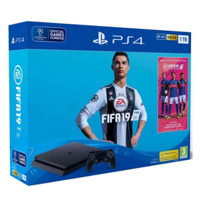 Playstation 4 Slim 1 Tera de Paquete2019