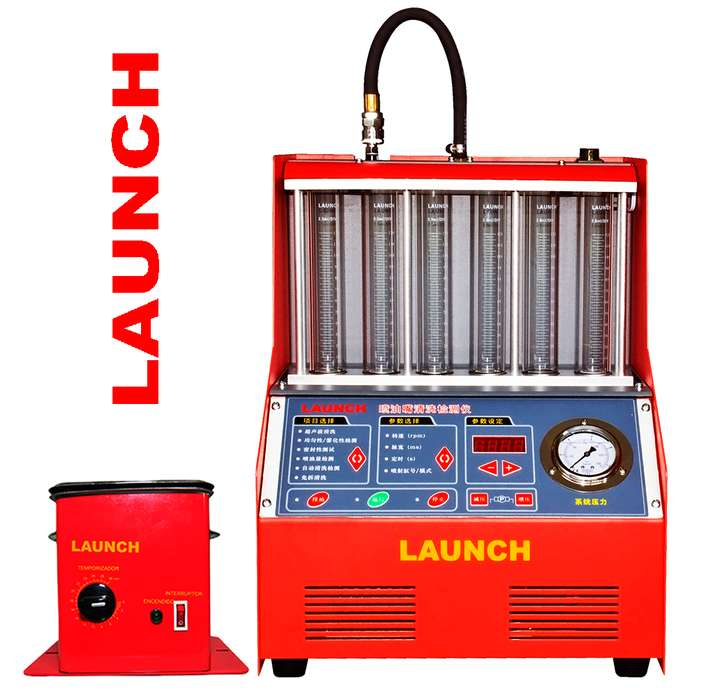 Probadores y limpiadores de inyectores LAUNCH CNC 602A