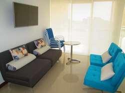 Comodo apartamento con abundante luz y ventilación en Zazue, Pozos Colorados