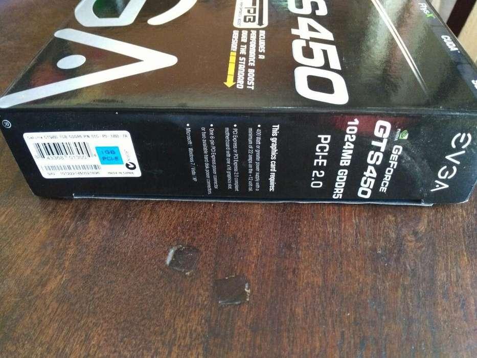 Nvidia Geforce Gts450 1024mb Gddr5 Hdmi