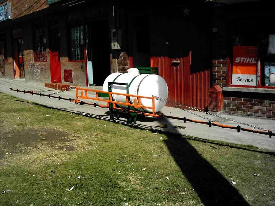 Fumigadora tractor calimax 600 litros