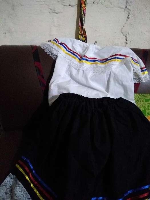 Disfraz de Campesina Niña 3a4 Años