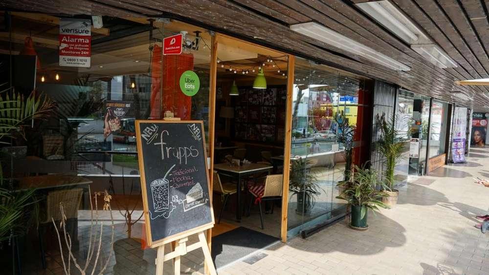 Traspaso Cafetería sin Marca