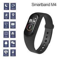pulsera m4 banda inteligente gym ritmo cardiaco notificaciones