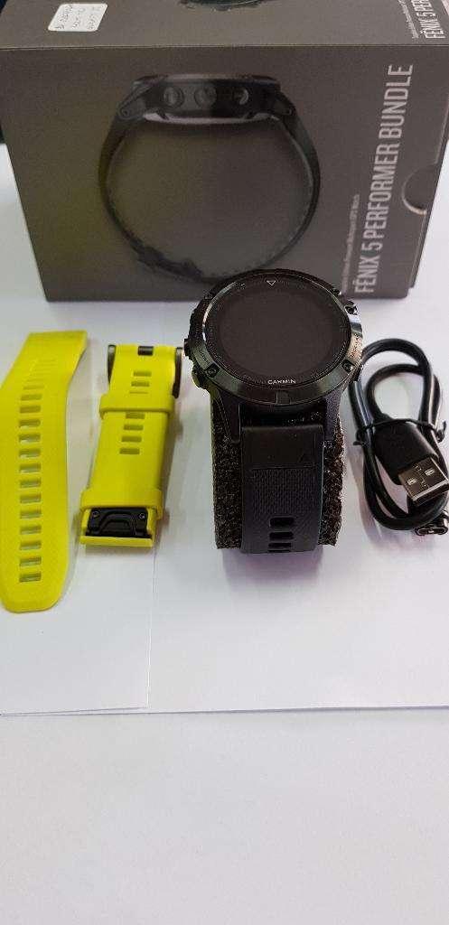 Reloj Garmin Fenix 5 Edición Zafiro