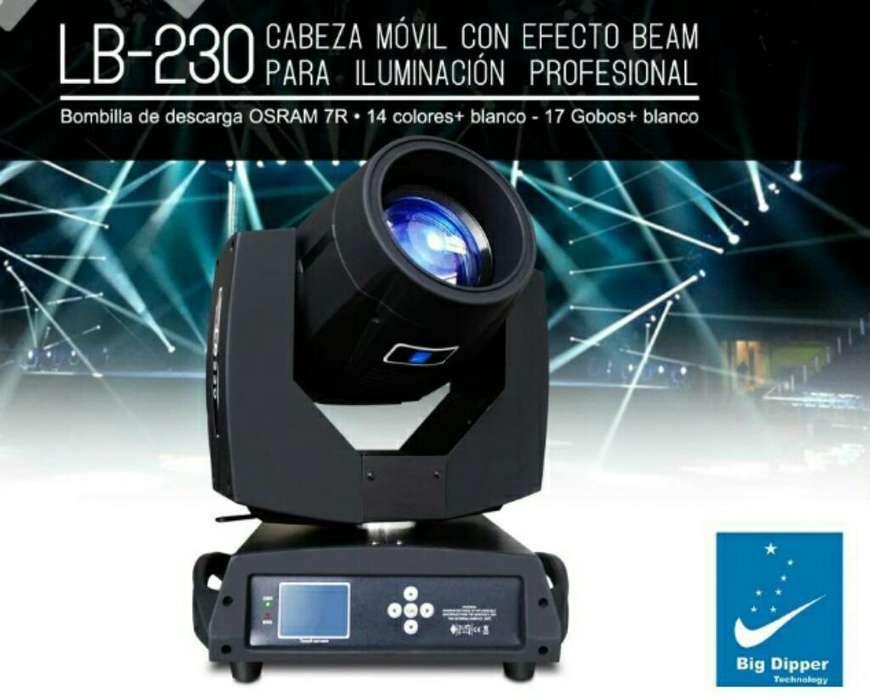 Cabeza Móvil Lb230