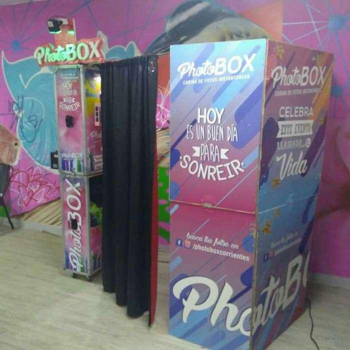 Alquiler de Cabina de Foto Photobox
